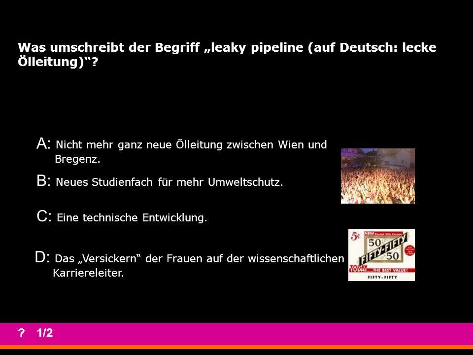 Welches Studium gibt es derzeit in Österreich NICHT.