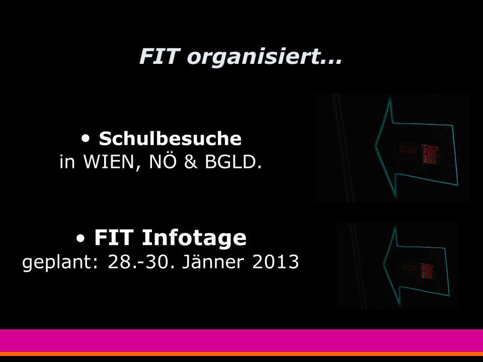 FIT WIEN-NÖ-BGLD Das ist FIT-Frauen in die Technik In Wien, Niederösterreich und Burgenland