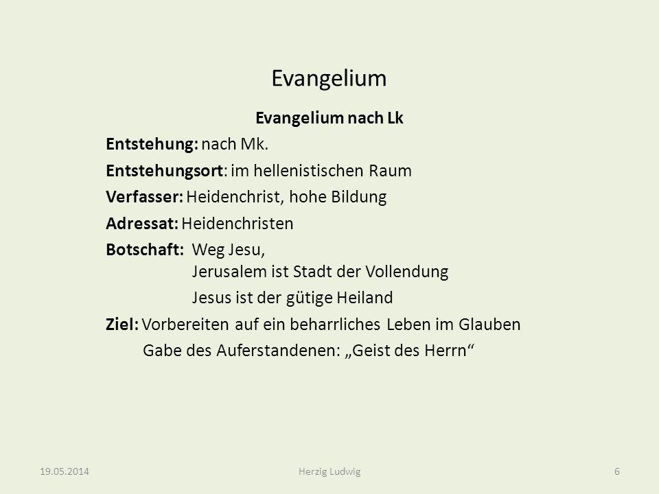 Evangelium Evangelium nach Joh Entstehung: 90/100 n.