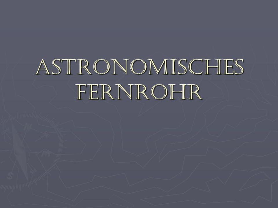 Wieviel können astronomische Fernrohre vergrößern.