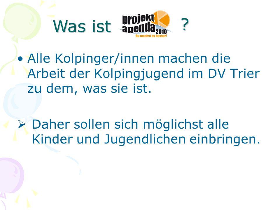 Alle Kolpinger/innen machen die Arbeit der Kolpingjugend im DV Trier zu dem, was sie ist. Daher sollen sich möglichst alle Kinder und Jugendlichen ein