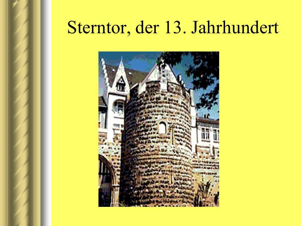 Sterntor, der 13. Jahrhundert