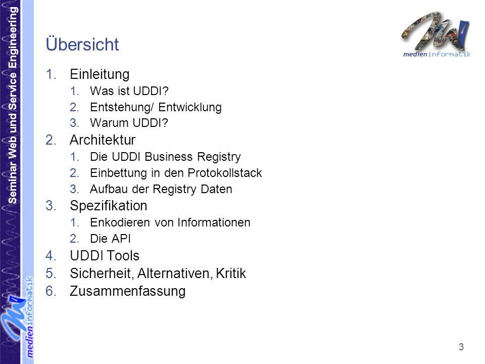 Seminar Web und Service Engineering 34 3.2.1.