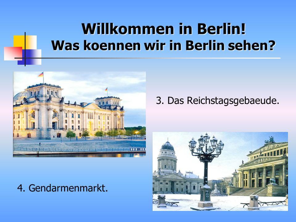 Und noch einige Interessente Fakten ueber Berlin: 1) Berlin ist 9 Mal groesser als Paris.