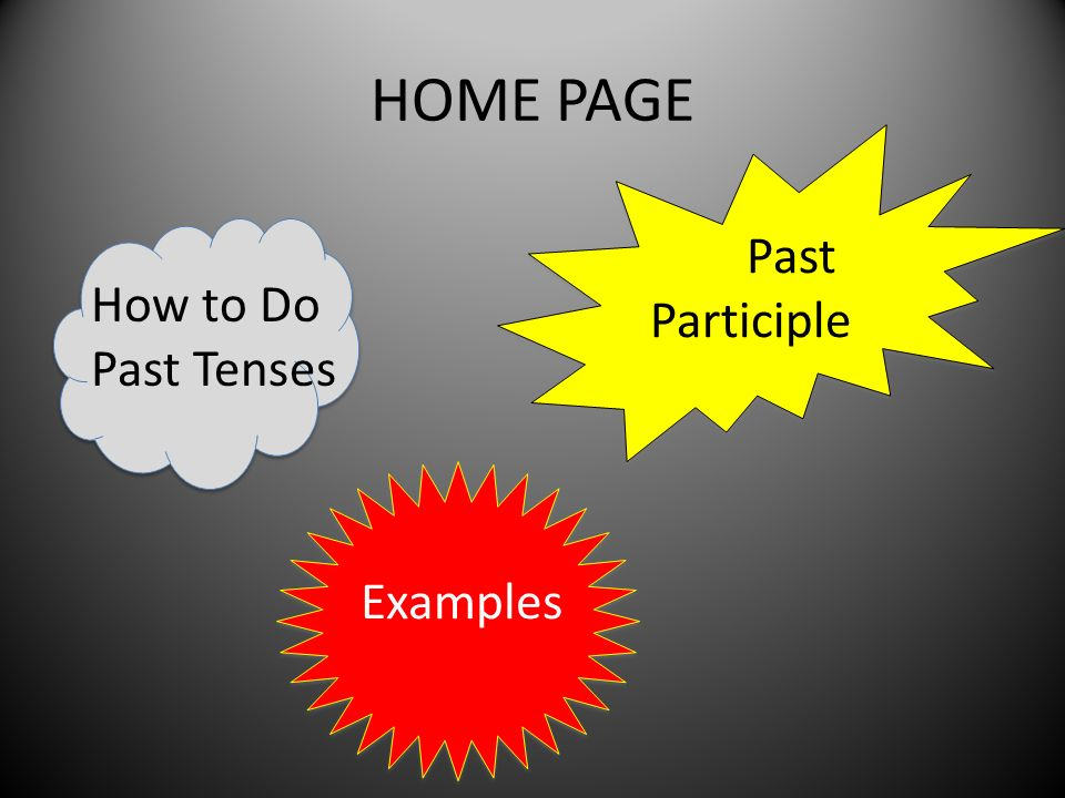 HOW TO DO IT Regular verbs in the past tense are different from irregular verbs.