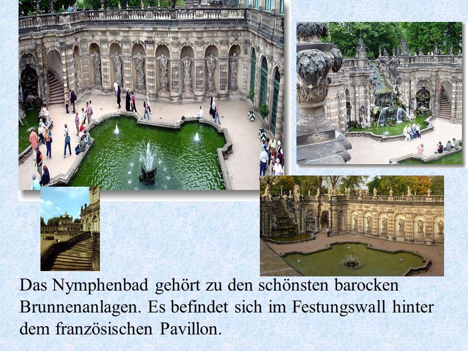 Das Nymphenbad gehört zu den schönsten barocken Brunnenanlagen.