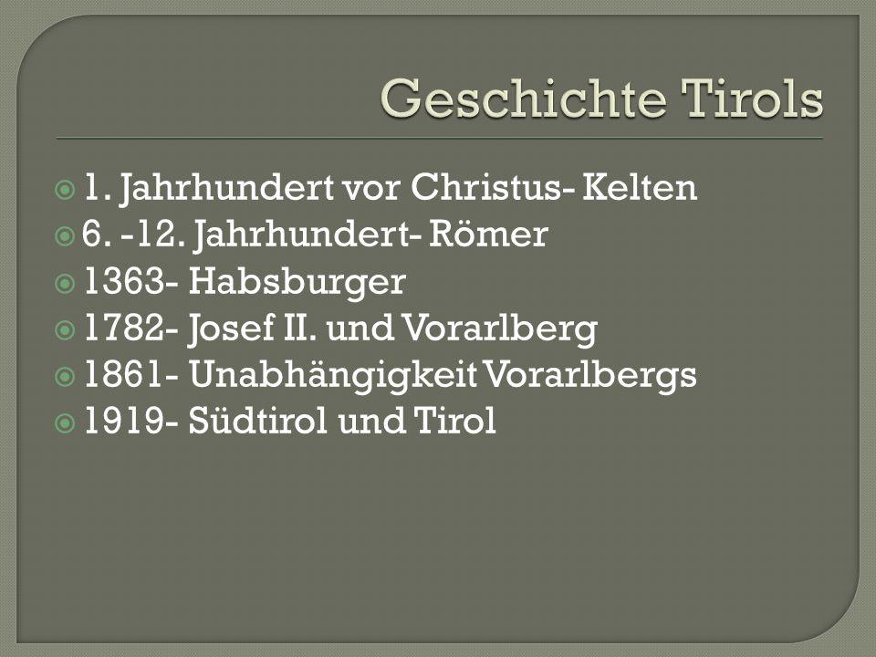 Bundesland im Westen Österreichs Das zweitkleinste Bundesland Hauptstadt- Bregenz Landeshymne- Meine Heimat Einwohner- 372 000 Oberfläche- gebirgig