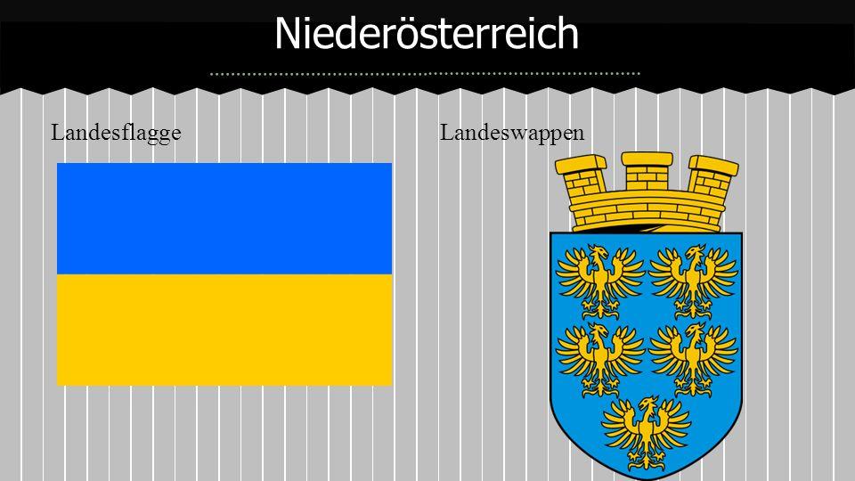 Landesflagge Landeswappen Niederösterreich