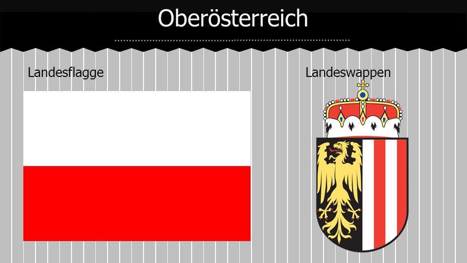 Landesflagge Landeswappen Oberösterreich