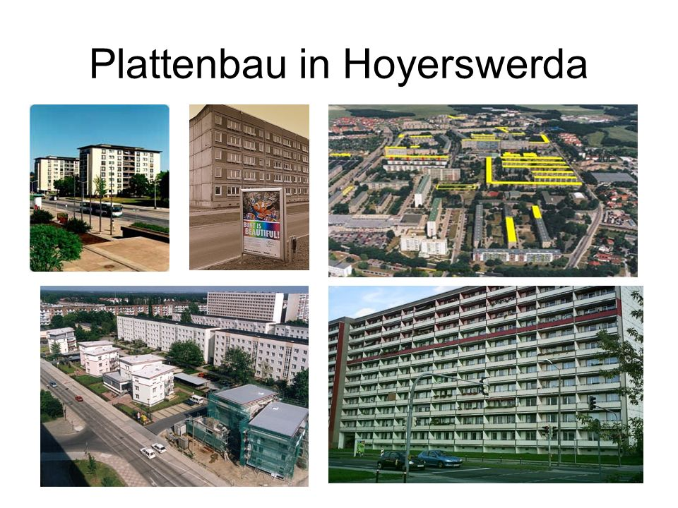 Plattenbau in Hoyerswerda