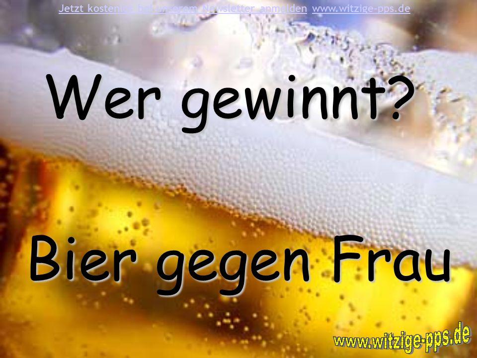 11.Dem ersten Bier ist es egal wie viele man danach noch hat.