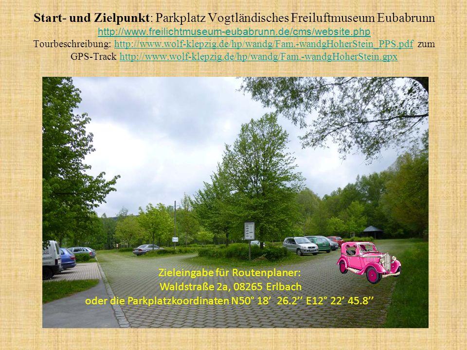 Familienwanderung im Oberen Vogtland von Erlbach zum Hohen Stein Kultureller Abschluss im Musikinstrumentenmuseum Markneukirchen Ton ein, mit Mausklick vorzeitig weiter, mit Esc beenden.