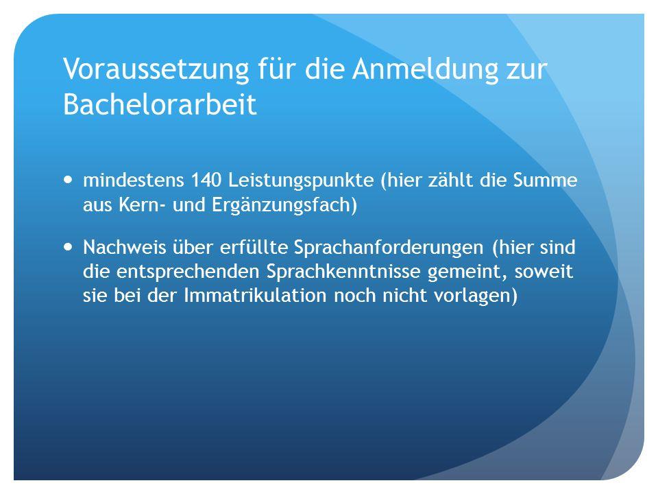 Anmeldetermine Anmeldung zum SoSeZulassung zum...01.-10.