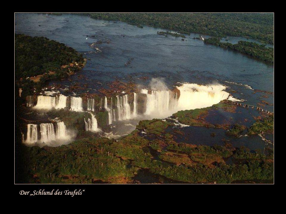 Iguazú bedeutet in der Sprache der Ureinwohner Guarani ~ Die großen Wasser