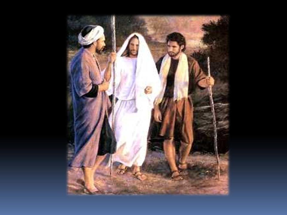 Lukas Evangelium Im Lukas Evangelium anschlie βt daran die Geschichte mit der Lehrjungen auf der Reise nach Emaus.