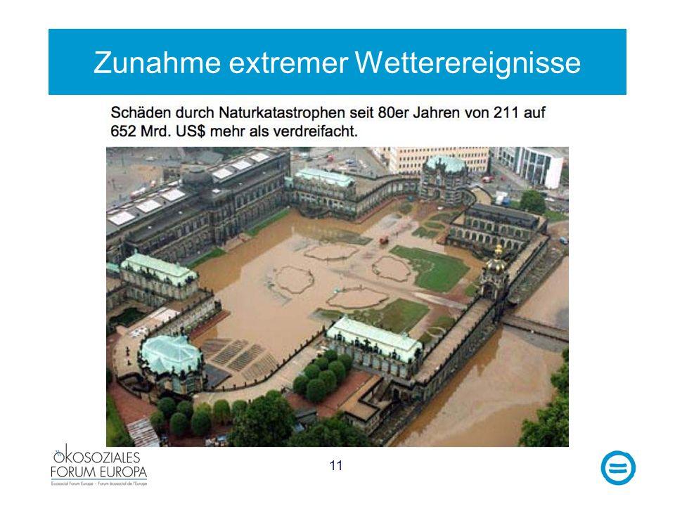 11 Zunahme extremer Wetterereignisse