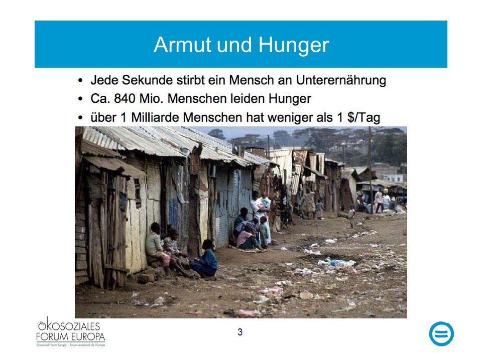 3 Armut und Hunger
