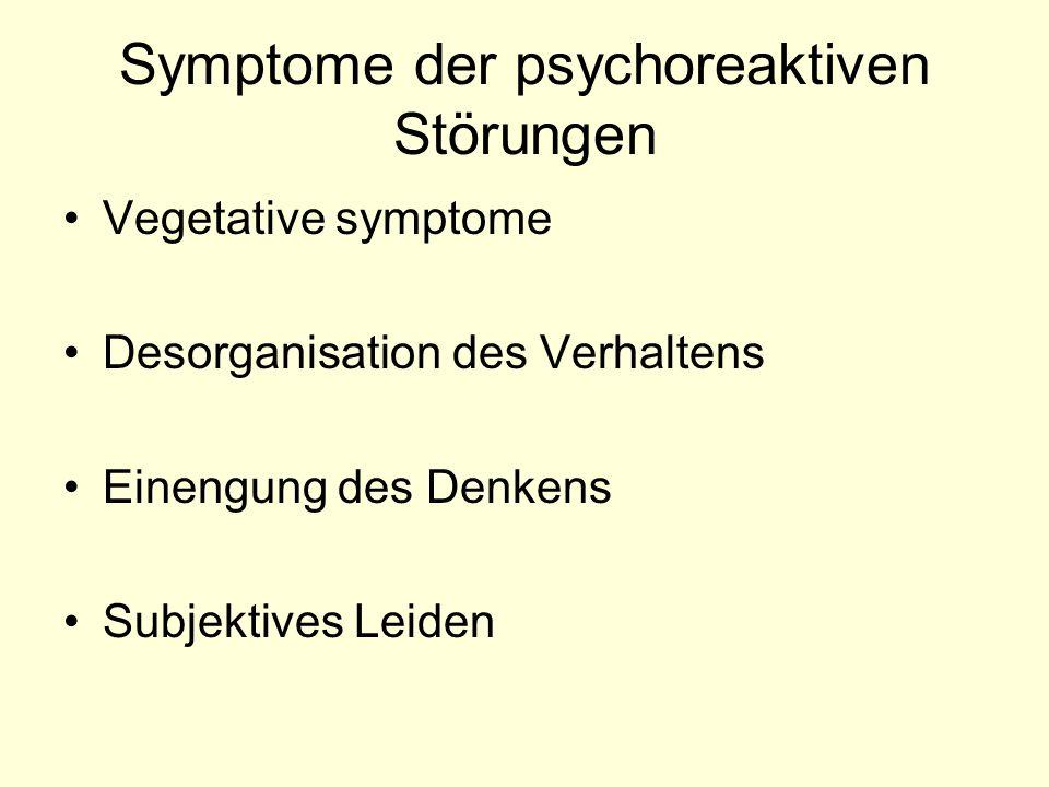 Formen der hysterischen Symptome Ausfallssymptome Motorische Symptome Subjektive Beschwerden Anfälle Dissoziative Verhaltensstörungen