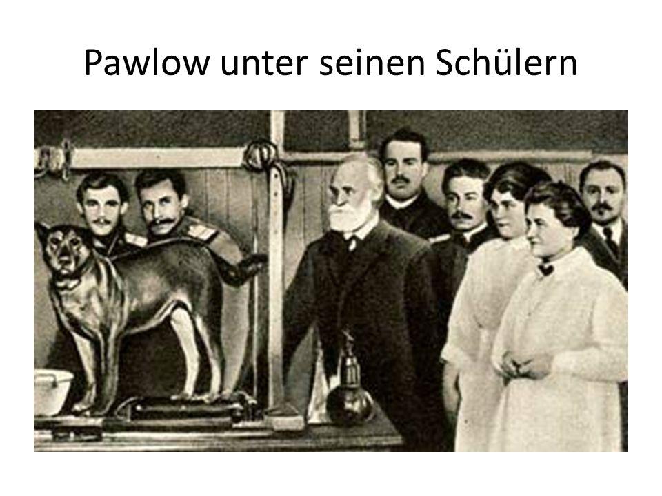 Pawlow unter seinen Schülern