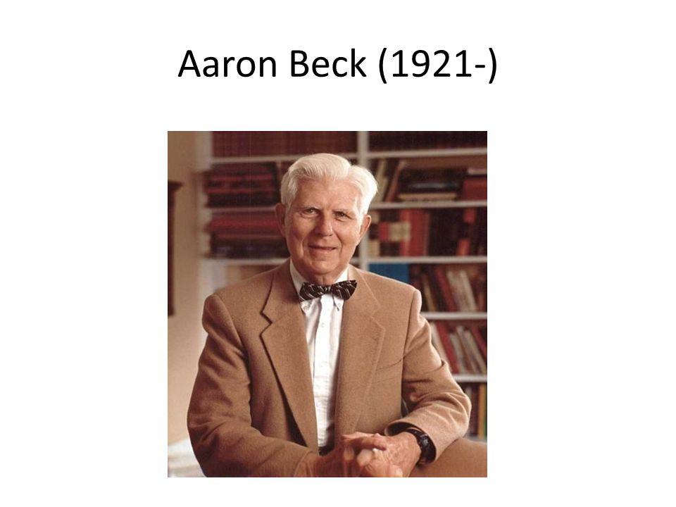 Aaron Beck (1921-)