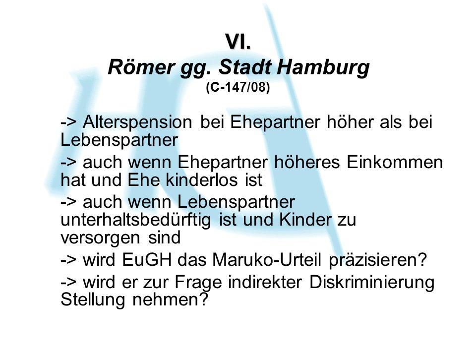 VI. VI. Römer gg.
