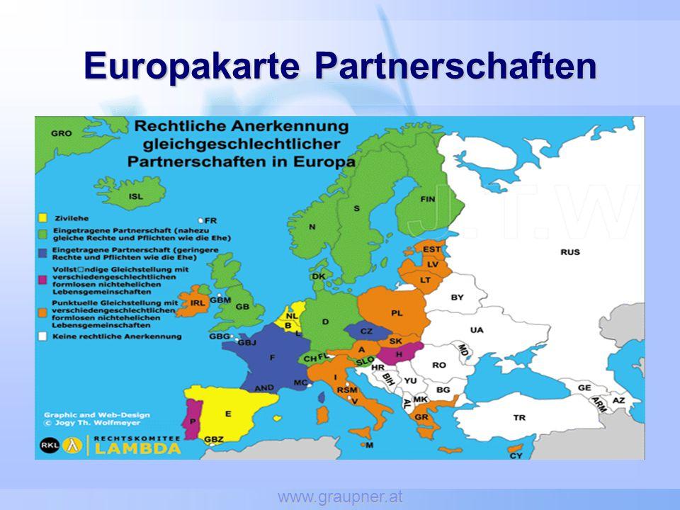 www.graupner.at Europakarte Partnerschaften