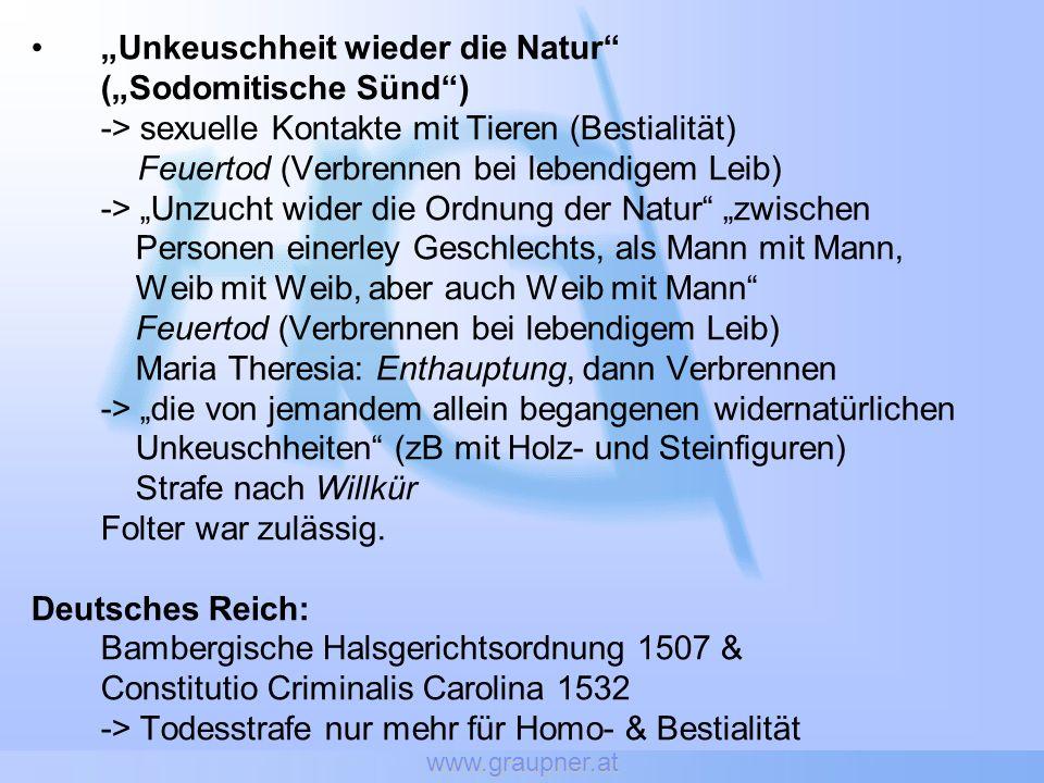 www.graupner.at Arbeitswelt: Nachforschungen zur sexuellen Orientierung und Entlassung wegen Homosexualität verletzen Art.