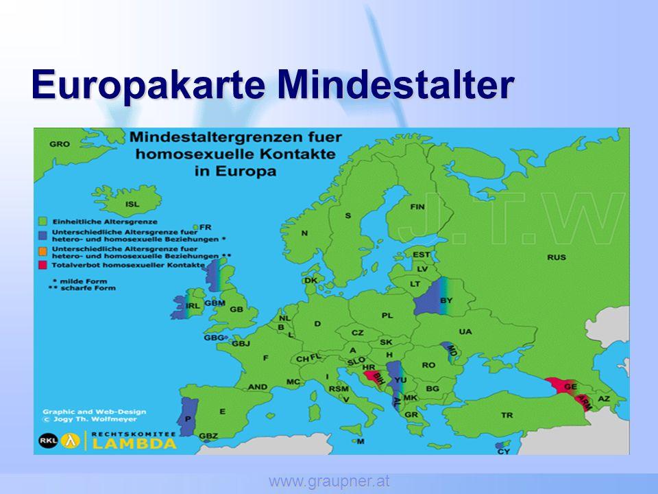 www.graupner.at Europakarte Mindestalter