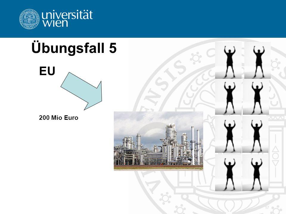 17 Übungsfall 5 EU 200 Mio Euro