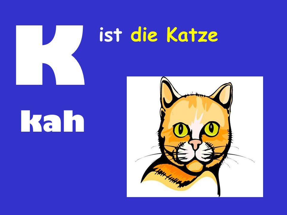 K kah ist die Katze