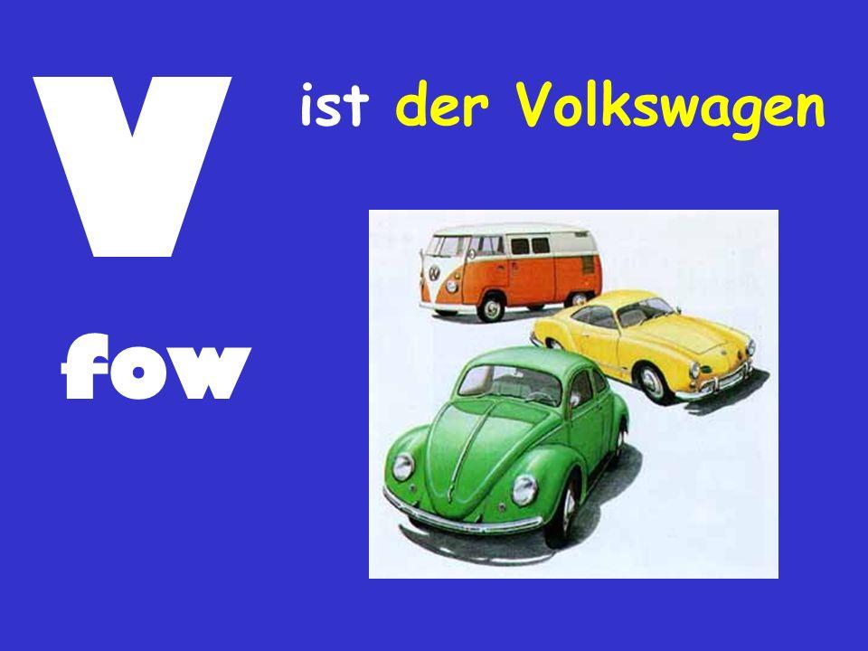 V fow ist der Volkswagen