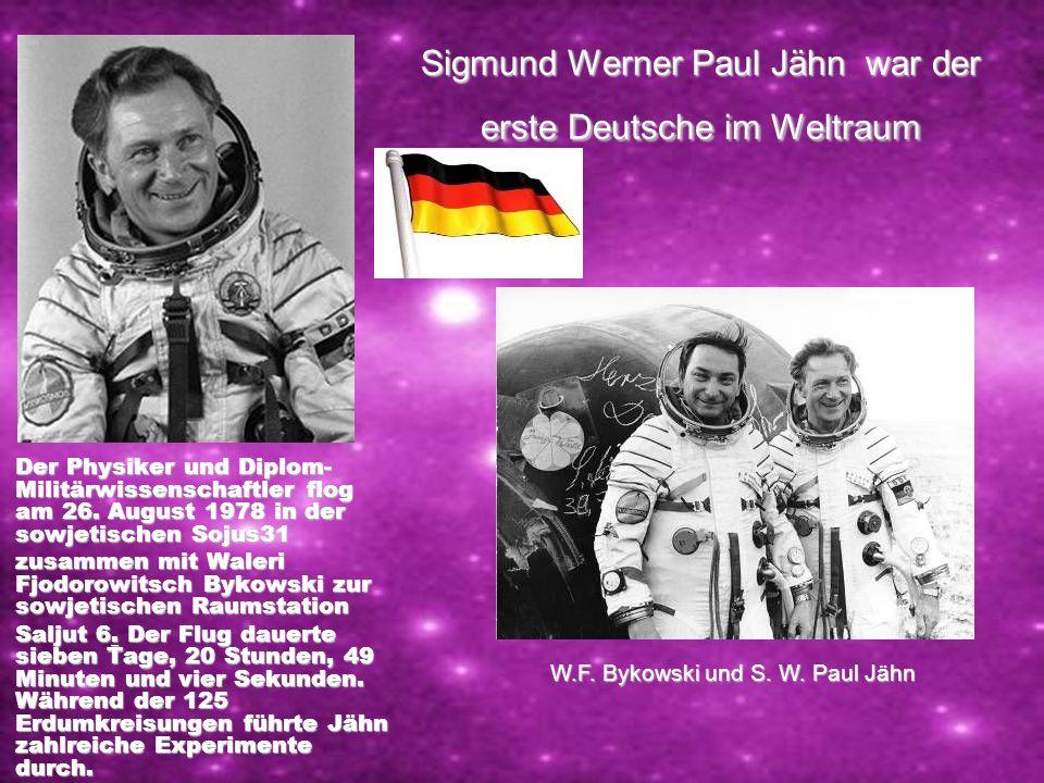 Walentina Tereschkowa – die erste Kosmonautin (Rufname Möwe-Tschajka) 16. Juni 1963 startet die erste Frau in dem Kosmos mit Raumschiff Wostok 6. Tere