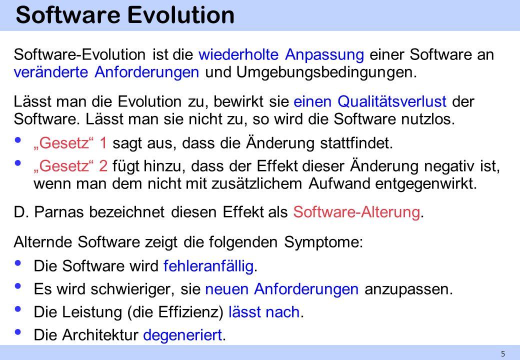 Migration einer Software-Erblast Voraussetzung: Zerlegung in Komponenten, die unabhängig voneinander migriert werden können.
