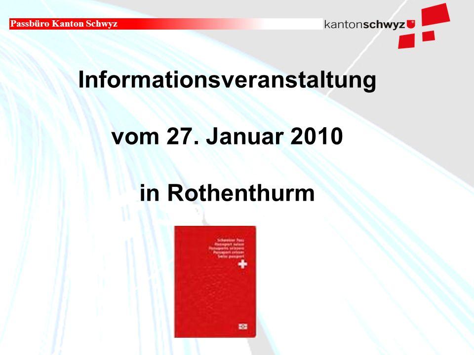 Militär- und Polizeidepartement Informationsveranstaltung vom 27.