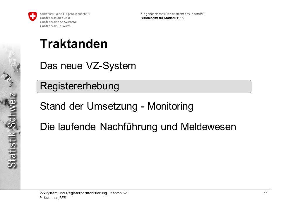 11 VZ-System und Registerharmonisierung | Kanton SZ P.