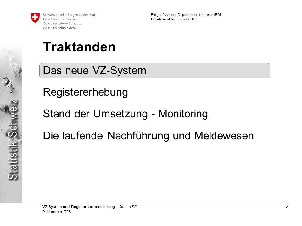 23 VZ-System und Registerharmonisierung | Kanton SZ P.