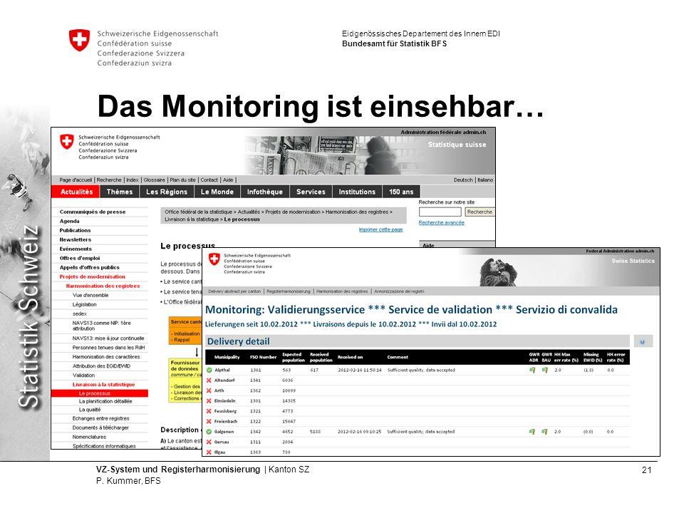 21 VZ-System und Registerharmonisierung | Kanton SZ P.