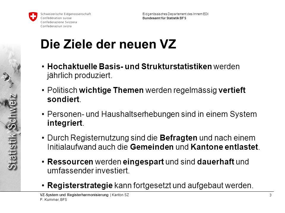 3 VZ-System und Registerharmonisierung | Kanton SZ P.