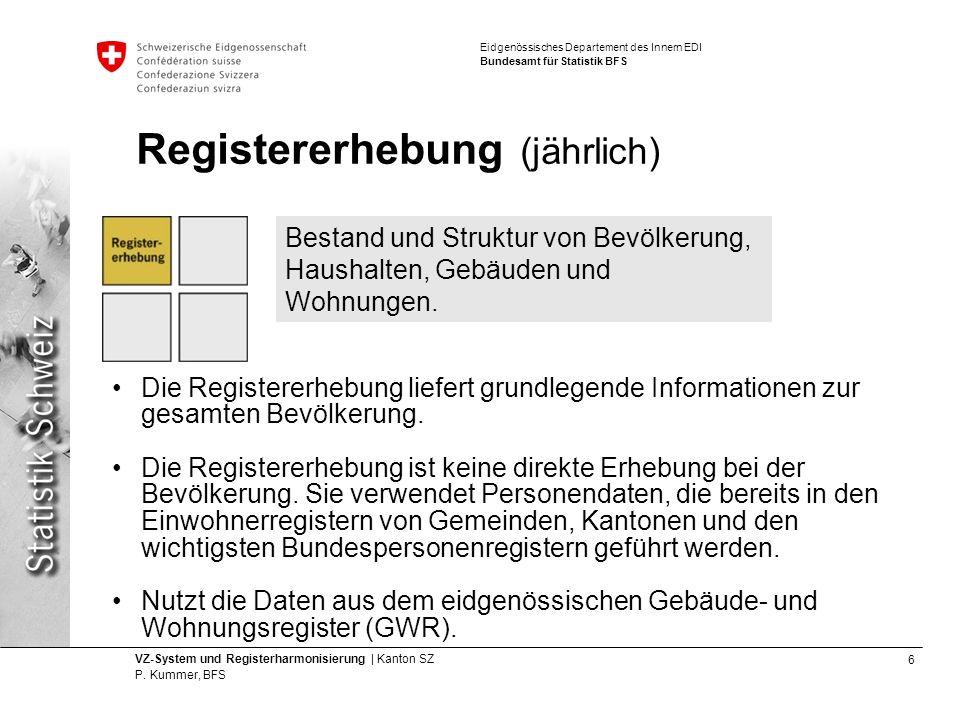 6 VZ-System und Registerharmonisierung | Kanton SZ P.