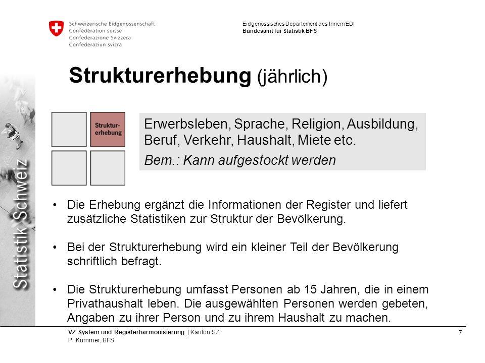 8 VZ-System und Registerharmonisierung | Kanton SZ P.