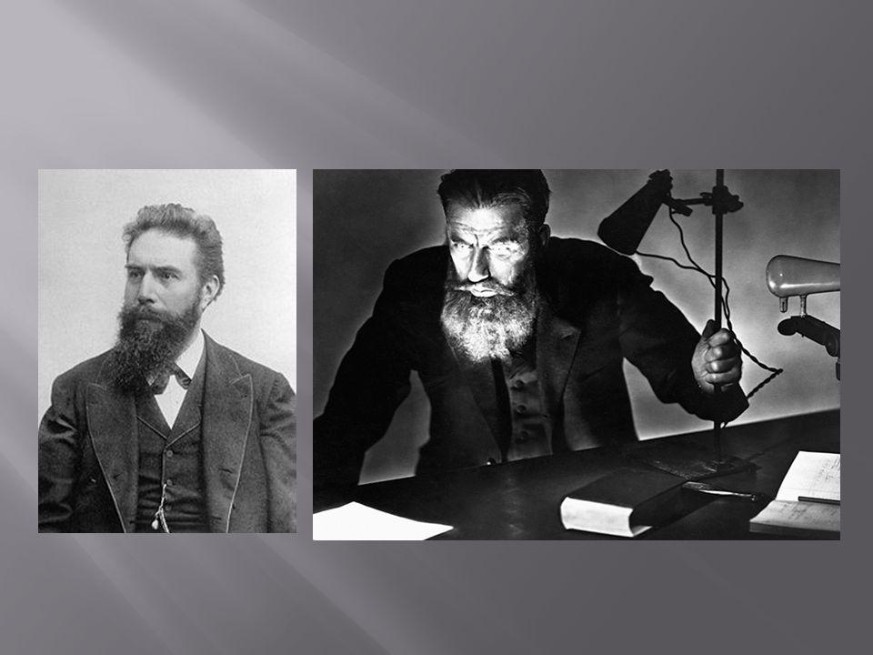 Er ist der erste Physiker,der den Nobelpreis bekommen hat.