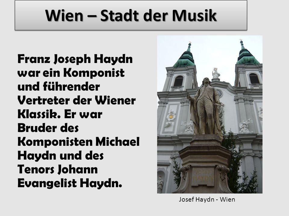 Wolfgang Amadeus Mozart – war ein Komponist zur Zeit der Wiener Klassik.