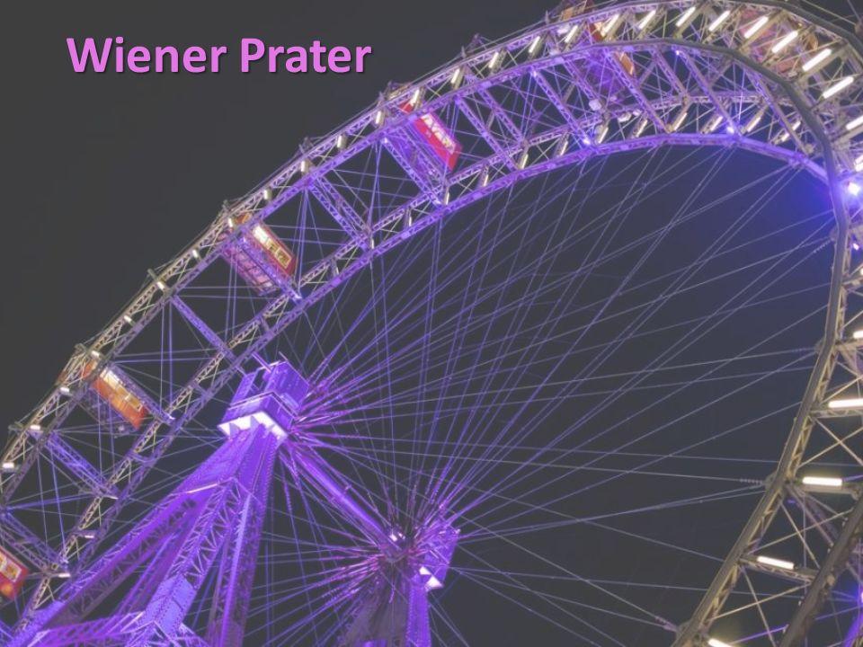 Der Wiener Prater ist eine sehr weitläufige öffentliche Parkanlage im 2.