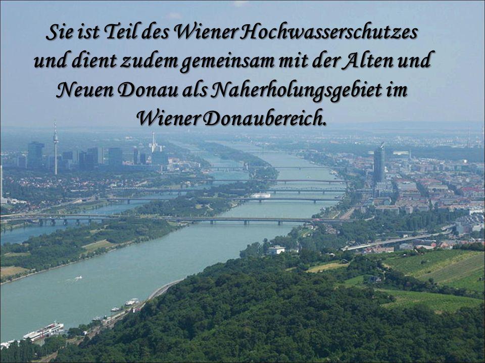 Jährlich findet auf ihr das Donauinselfest statt.