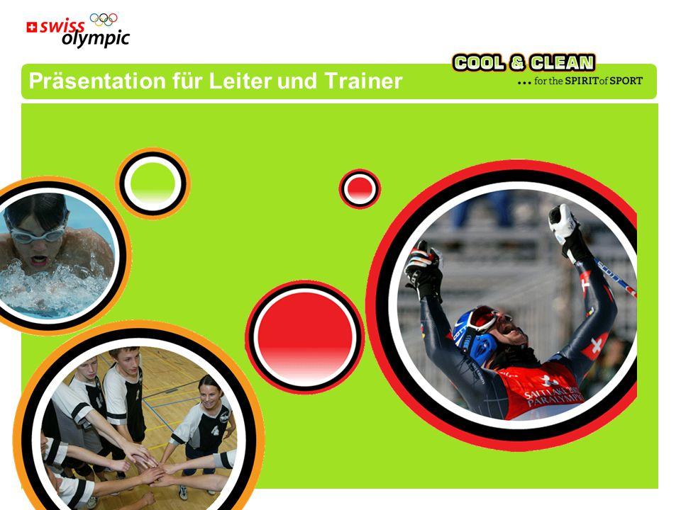 Präsentation für Leiter und Trainer
