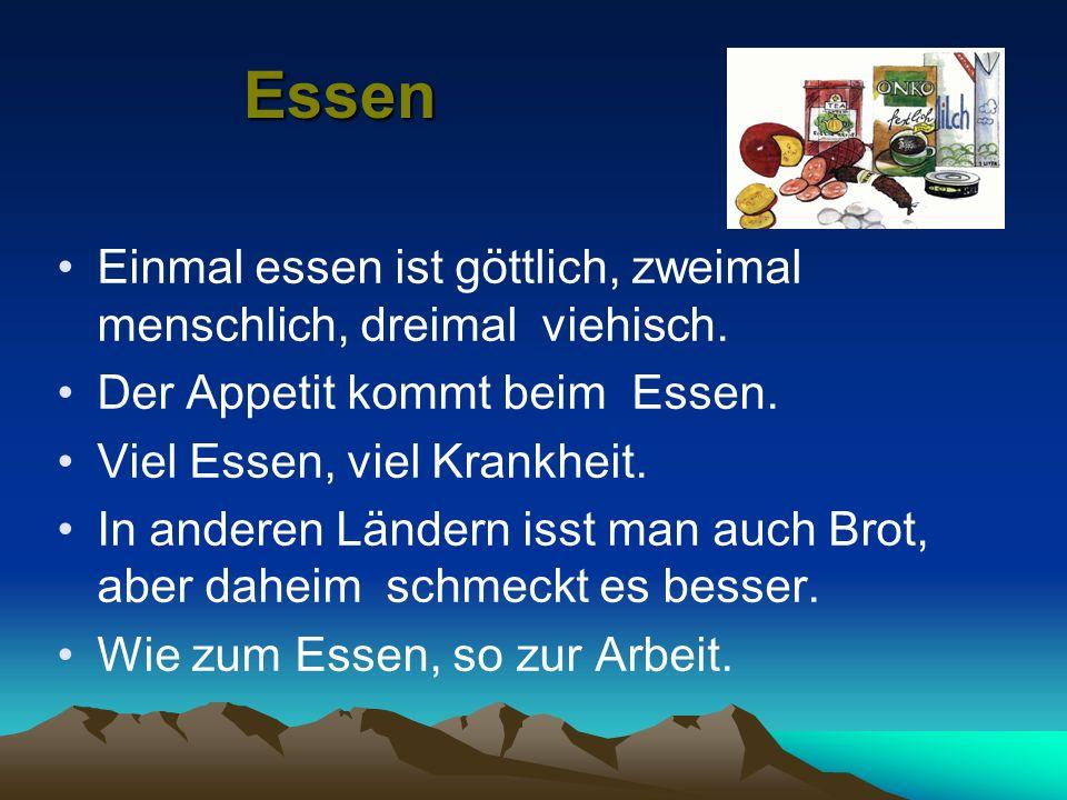 Некоторые немецкие блюда Der Kloss Die Bratwurst Pommes frites (пом фрит) «wie zuhause» Gut bürgerlich Блюдо из картофеля в форме шара Копченая колбас