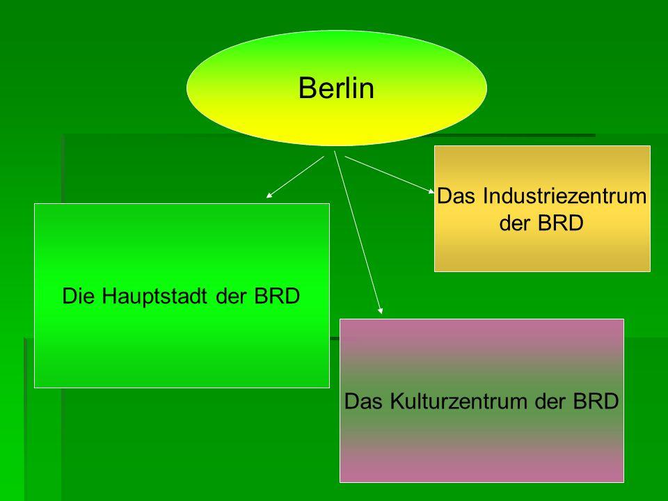In Berlin sind viele Sehenswurdigkeiten