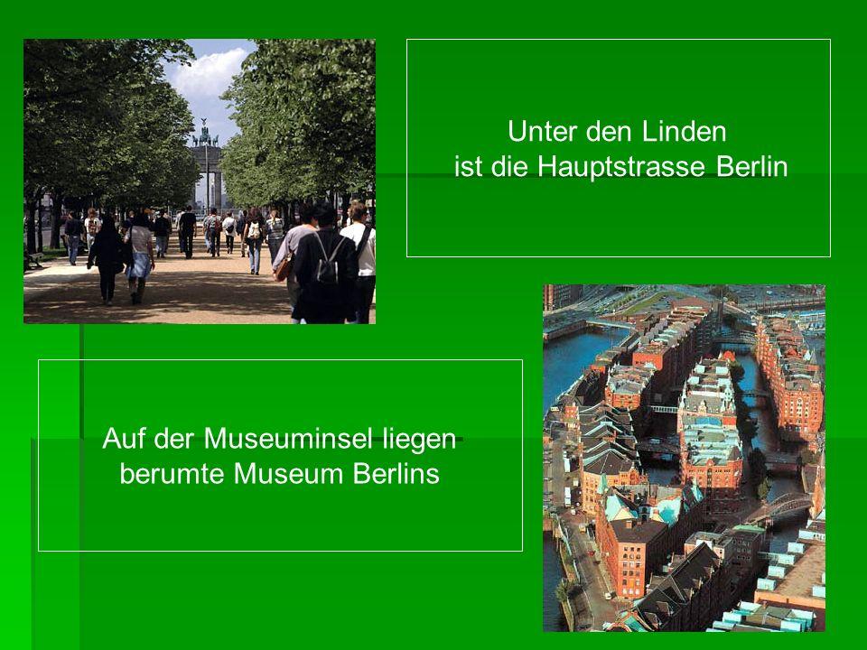 Der Berliner Zoo mit den steinernen Elefanten am Eingang besuchen die Kinder besonders gern Das Fernsehturm ist das grossteTurm in Europa