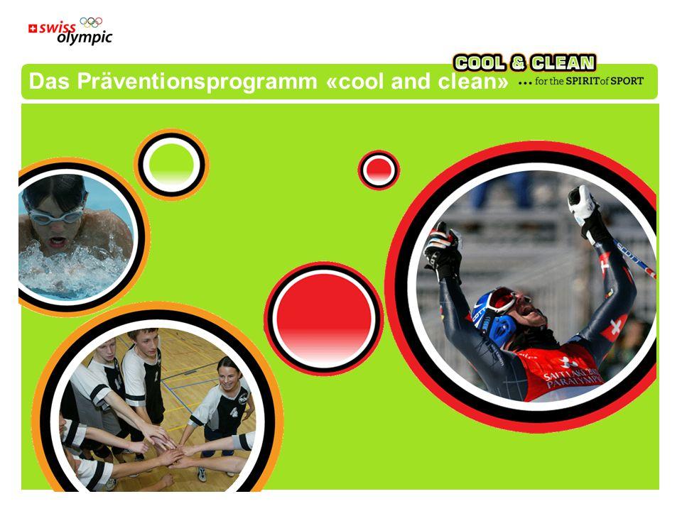 Das Präventionsprogramm «cool and clean»