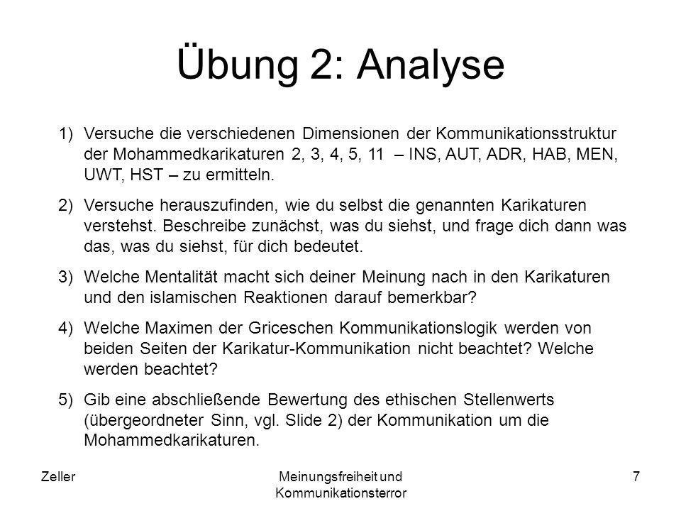 ZellerMeinungsfreiheit und Kommunikationsterror 18 Beschreibung 8 A police line-up of seven people wearing turbans, with the witness saying: Hm...